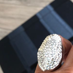 a1264b032098d Swarovski Crystals Big chunky Ring.